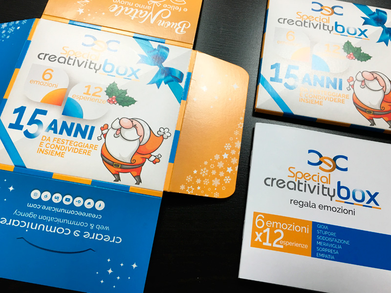 Un'idea di marketing: la C&C special creativity box